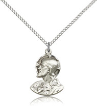 Christ Sterling Silver Medal 4117-bliss