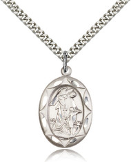 Ecce Homo Christ Sterling Silver Medal 0801EH-bliss