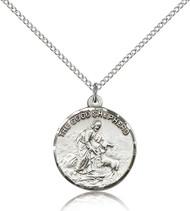 The Good Shepherd Sterling Silver Medal 4264-bliss