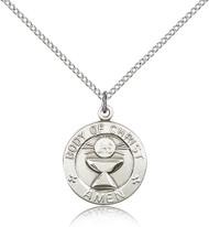 Body of Christ - Amen Sterling Silver Medal 2094-bliss