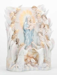 Madonna of the Angels Statue