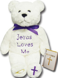 Jesus Love Me Holy Bear