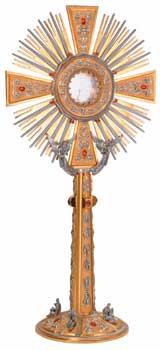 Monstrance & Carrying Case 710