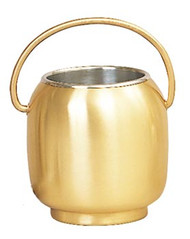 Holy Water Pot w/Sprinkler and Liner 388