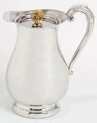Pewter Flagon & Cover K76