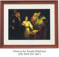 Christ in the Temple (Hoffman)