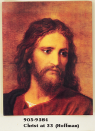 Christ at 33 Framed Picture (Hoffman)