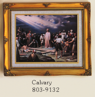 Calvary Framed Picture