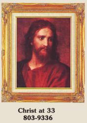 Christ at 33 Framed Picture