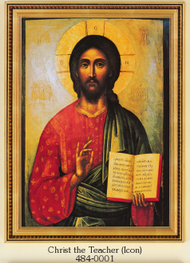 Christ the Teacher Framed Picture (Icon)