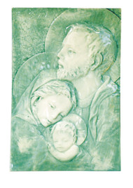Holy Family Alabaster Tile