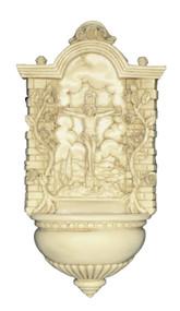 Antiqued Crucifixion Font