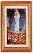 Our Lady of Fatima Framed Picture 358-3433