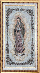 Our Lady of Guadalupe Framed Tapestry