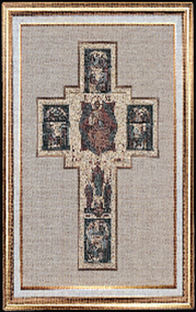 Holy Cross Imported Italian Framed Tapestry