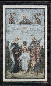 Holy Family Imported Italian Framed Tapestry