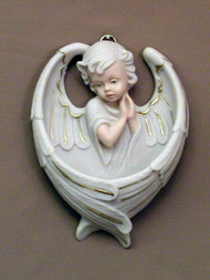 Praying Angel Holy Water Font - MA-401-M