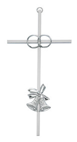 "25TH ANNIVERSARY CROSS SILVER 8"" 71-44825"