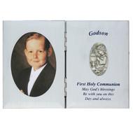 GODSON SILVER COMMUNION PLAQUE FRAME