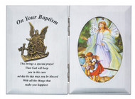 BAPTISM GUARDIAN ANGEL PLAQUE 74-11