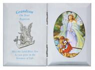 GRANDSON BAPTISM GUARDIAN ANGEL PLAQUE 74-12