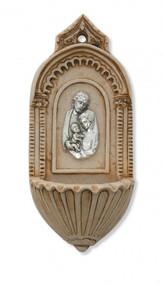 ITALIAN HOLY FAMILY HOLY WATER FONT 120-88