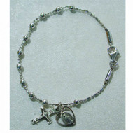 FINE QUALITY YOUTH ROSARY BRACELET 911L