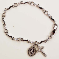 FINE QUALITY YOUTH ROSARY BRACELET B58
