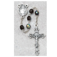 JANUARY BIRTHSTONE IMPORTED ROSARY 6MM 875-GAG