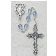 DECEMBER BIRTHSTONE IMPORTED ROSARY 6MM 875-ZRG
