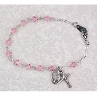FINE QUALITY YOUTH ROSARY BRACELET BR277RM