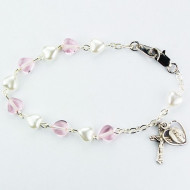 FINE QUALITY YOUTH ROSARY BRACELET BR446RM