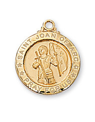 ST. JOAN OF ARC MEDAL J700JOA