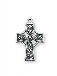 BABY CELTIC CROSS PENDANT L8023B