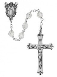 CRYSTAL ROSARY 7MM R407LF