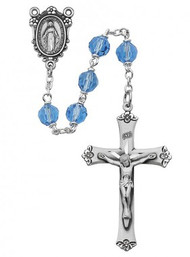 BLUE ROSARY 7MM R408DF