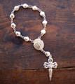 Camino De Santiago 1 Decade Rosary St. James Scallop Shell Pilgrim New