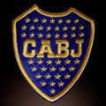 Boca Juniors Logo Soccer Patch Argentina Futbol Embroidered Sew / Iron On New