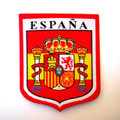 Spain Coat of Arms National Flag Embroidered Sew On Spanish Shield Cloth Patch