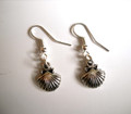 Camino de Santiago Pilgrim Scallop Shell Earrings