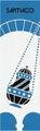 Camino de Santiago Pilgrim Souvenir Printed Fabric Bookmark (5 of 8)