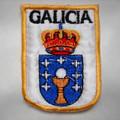 Camino de Santiago Galicia Coat of Arms Pilgrim Patch