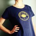 "Camino De Santiago ""Buen Camino"" Women T Shirt Size L"
