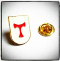 Tau / St Anthony Cross Lapel Pin