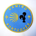 Camino Portugués Backpack Patch