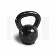 MA1 Black Cast Iron Kettlebell with rubber base 8kg