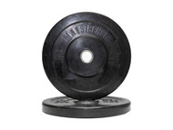 MA1 Club Bumper Plates Black 15lb (Pair)