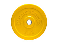 MA1 Club Bumper Plates Colored 35lbYellow (Pair)