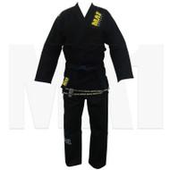 MA1 Gold Weave BJJ Pro Gi - Black