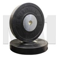 MA1 Elite Bumper Plates Black 25kg (Pairs)